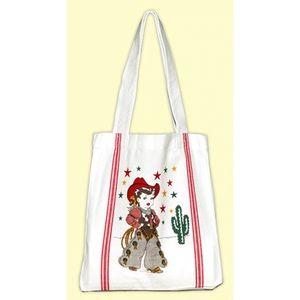 📌 NWT Cow Girl Tote Bag